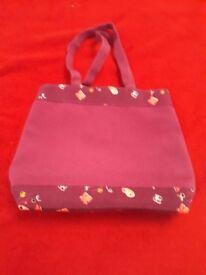 Purple Design Fashion Bag