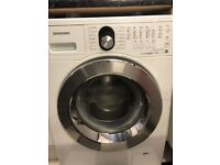 SAMSUNG - WF1704WSE2 Ecobubble Washing Machine – White - Faulty Spares or Repair
