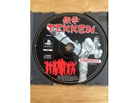 Sony PS1 Tekken 1 (Used, Unboxed, Great Condition, Disc Only)
