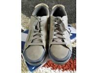 Skechers brown shoes, boys