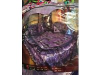 Luxury traditional Arabic bridal bedding-brand new