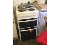 Beko electric oven with electric hobs