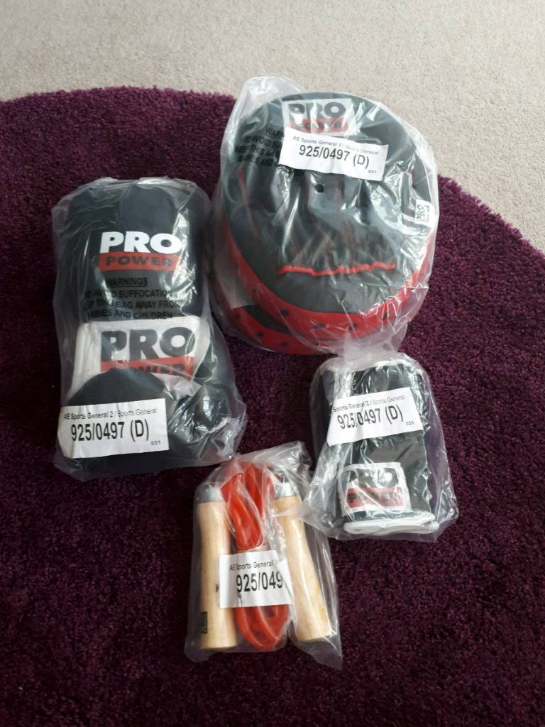 Pro Power Boxing Set Brand New