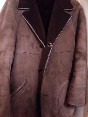 Genuine sheepskin leather jacket , men's winter jacket