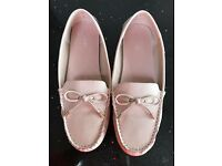 Next Pink Loafers
