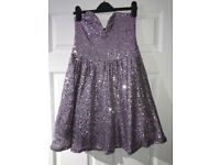 Used size 8 fully sequined sweetheart bust dress