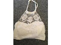 Summery lacy top