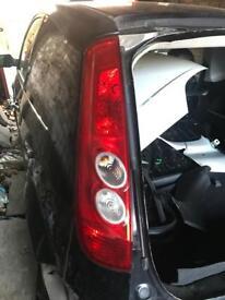 Ford Fiesta Mk6 ST Rear Lights