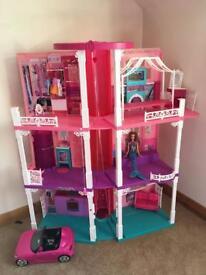 Large Barbie mansion house