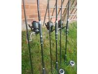 3 rod set up