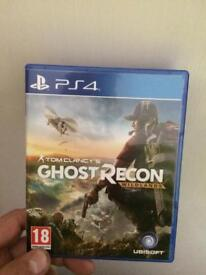 3 PS4 game for sale