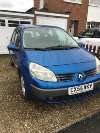 Renault Scenic 55 plate