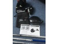 Titleist 917 D3 driver - Choice of 3 shafts - extra weights included