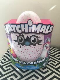 Pink pengulas hatchimal brand new in box