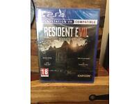 Resident Evil VR PS4 Game
