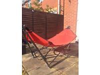 Foldable hammock