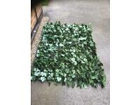 ARTIFICIAL LEAF TRELLIS X 2 SECTIONS - PERFECT GARDEN SCREENING