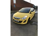 Vauxhal Corsa 1.3 cdti ecoflex diesel, low milage, immaculate condition, £20 tax