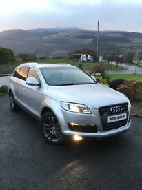 AUDI Q7 (4x4 - Top SPEC - 7 Seater)