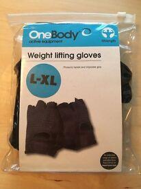 L-XL Weight Lifting Gloves