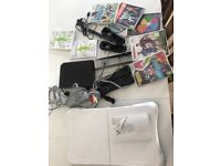 Nintendo wii including balance board and games