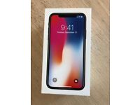 Brand New Sealed Apple IPhone X-256GB Space Grey (EE locked)