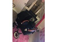 Bugaboo Donkey with lots of extras
