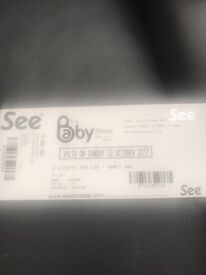 *Genuine* The baby show tickets X4 @ Olympia, London