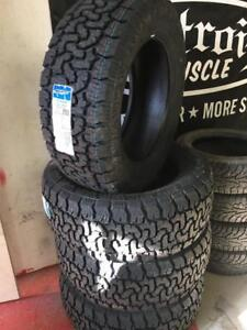 Amp A/T P Terrain Pro 305-55-20 33  Winter Rated 10 ply e rated tires Bfgoodrich tako2 replicas