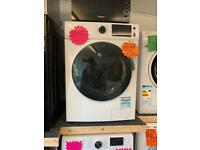 Belling white 10kg ld 1400 spin new washer