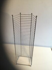 CD/DVD metal rack