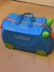 Kids Trunkie Suitcase - Very clean like new!