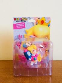 NINTENDO PRINCESS PEACH RABBID FIGURE BRAND NEW