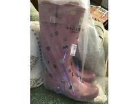 Ladies Wellington boots never been out of the bag