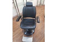 Belmont sportsman barbers chairs x2