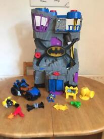 Batman Imaginext Batcave with accessories