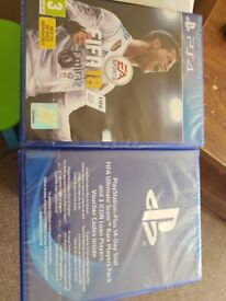 Fifa 18 ps4 +extras. Unopened