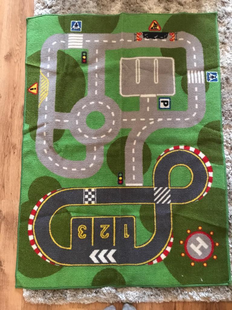 Toy car rug