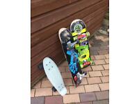 3 pro skateboard customs