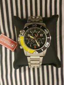 Hanowa Swiss Military Watch (Diver) - like Tag Heuer Aquaracer, Formula 1 - sekonda, seiko, rotary
