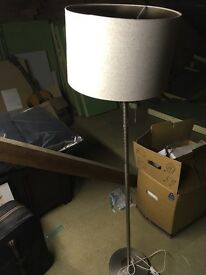 Standing lamp and 3 other lampshade's