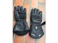 Hipora Gauntlet Padded Motorbike Gloves
