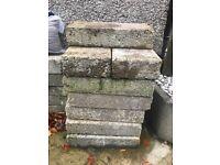 Grey concrete dense blocks x22
