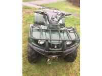 Yamaha 350 grizzly quad