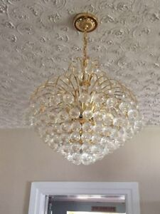 Large Hanging Chandeliers (pair)