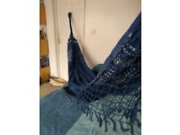 Authentic handcrafted brazilian hammock in cotton, couples size