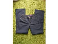 Ladies size 14 Bootcut jeans from New look. Dark blue in color. Never worn
