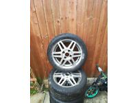 FORD FIESTA GHIA ALLOYS AND TYRES