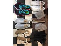Girls shoes, size 3.