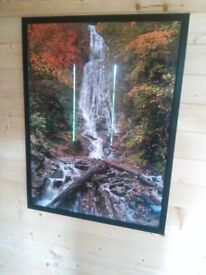 Large waterfall framed print (2 of 4)